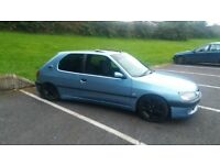 L@@K # PEUGEOT 306 D TURBO # MOT FEB + TAXED # £850
