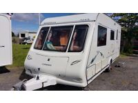 Compass Omega - 4 Berth Touring Caravan