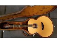Faith Natural Jupiter Acoustic Guitar (And original flight case)