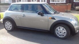Mini 1 Hatchback 3 door reg 57 2008