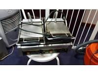 Buffalo twin panini grill
