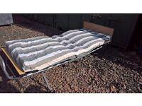 Fold away bed