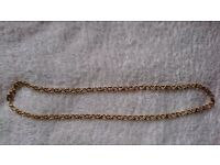 MONET Gold Plated 1980's Necklace