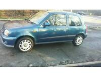 2002 Nissan Micra 1.0 only 70000 full service history