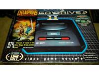 Sega mega drive 2 boxed mega cd unboxed 1 controller all leads and 13 games