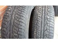"FREE! 4 X 18"" 20"" TYRES (NOT ROAD LEGAL) FOR BACK GARDEN OR KIDS PLAY AREA"