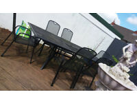 ######EXTENDING TABLE PATIO SET ######SOLD SOLD SOLD SOLD SOLD