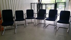 office / reception/ barber chairs