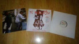 3 x dj shadow - endtroducing / strike / live - vinyl collection