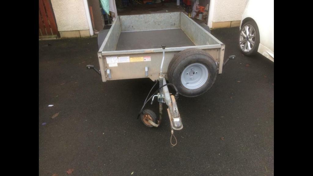 IFOR WILLIAMS 7x4 TRAILER