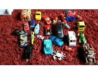 Selection of toy cars – approx. 20