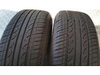 195 65 15 2 x tyres Hifly HF201