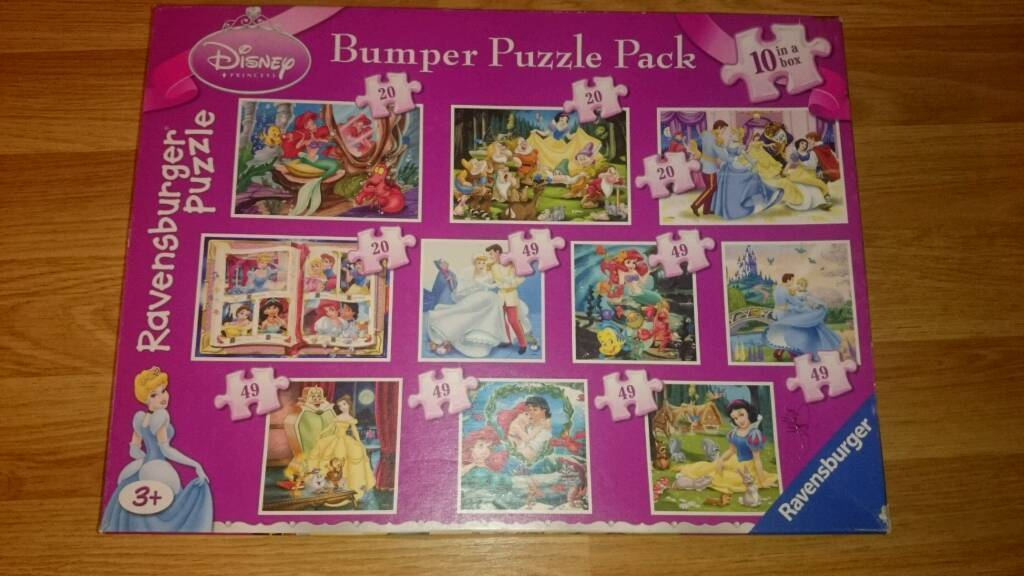 Children's Disney Princess Jigsaw Puzzles