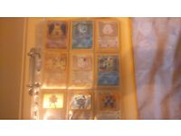 Complete base and jungle set of pokemon cards