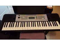 BRAND NEW yamaha electronic keyboard £89.99 INCLUDED BRAND NEW BATTERIES