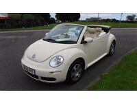 Volkswagen Beetle 1.4 2006 Luna,Convertible,Only 39,000mls,Diamond Cut Alloys,Very Clean,