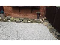 APRROX 50 LARGE ASSORTED ROCKERY ROCKS PONDS WATER FEATURES GARDEN