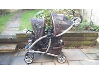 Graco Quattro double buggy for sale
