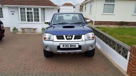 NISSAN NAVARA 2005 VERY CLEAN MOT FOR 10 MONTHS STAMPED HISTORY