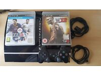 PS3, Playstation 3 , 1 controller +2 games