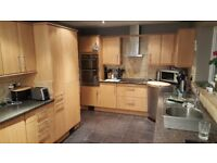 Complete range of kitchen units & range of appliances for sale.
