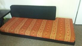 Very Comfortable floor sofa for sale from a pet free home.