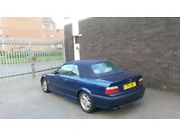 BMW 323i M Sport Convertible 1999 E36 M3 AVUS BLUE Leathers History Private Plate MTech