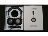 """High End - HEADPHONES with MIC - from """"Musical Fidelity"""" model M-200 (RRP £275)"""