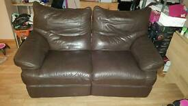 3 seater, 2 seater & chair all reclinning