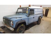 LAND ROVER 110 EX BRITISH RAIL PROJECT BARN FIND 2.5N/A DIESEL