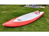 Take-off Retro fish surfboard 6'