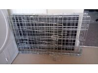 2x small dog crate