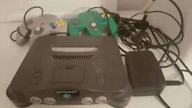 Nintendo 64 console plus 9 games