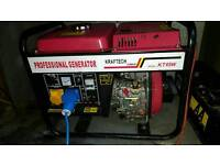 Key start diesel generator