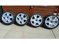 FORD MONDEO ZETEC S ALLOY WHEELS AND TYRES