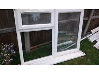 Upvc window used complete