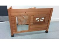 Wooden kennel/garden shelter, brand new unassembled