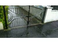 Beautiful metal gate for sale!