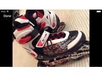 NEW roller blades size 6