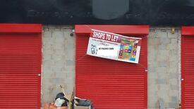 Small shop units to let(at bottom of Soho Road )