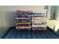 33 x dvd films including 2 x blu ray