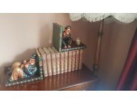 XL Vintage Collectable Laurel and Hardy Book Ends