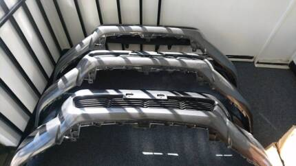 2017 Toyota Hilux SR5 Front Bumper Complete Assembly Graphite