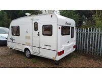 Bailey Pageant Majestic Compact 2 Berth Caravan with End Kitchen