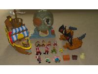 Jake & The Neverland Pirates Job Lot of Toys