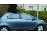 Toyota yaris for sale. £2350.00 make a great first car.