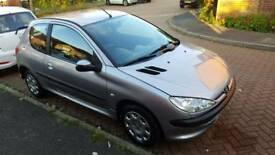 Peugeot 206 55 reg 2005, 1.1 petrol, 86k miles New MOT,