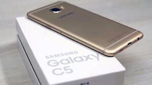 Samsung C5  32 GB (GOLD) , 4GB RAM UNLOCKED, (STORE DEAL)