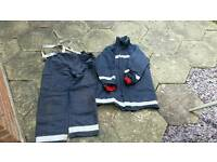 Firefighter uniform Fire kit Fire tunic and leggings
