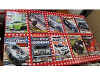 Selection of Fast Ford Car Magazines Assorted Issues 2